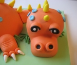 Dragon Cake (detail)