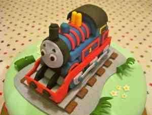 Train Cake (detail)