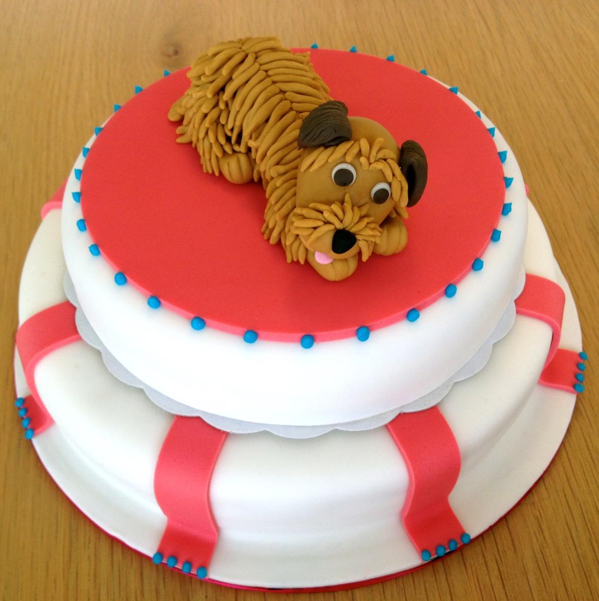 Scruffy Dog Cake