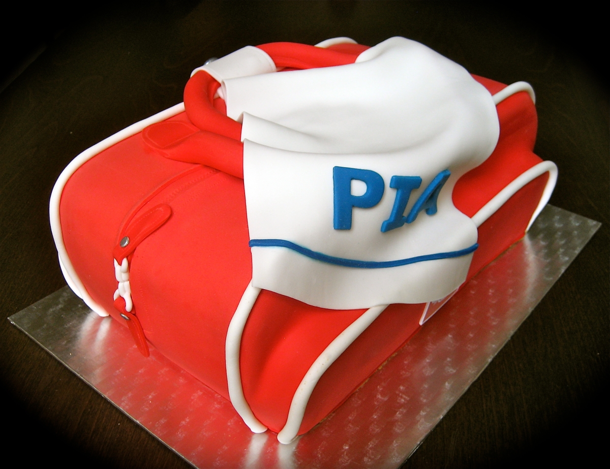 Sports Bag Cake