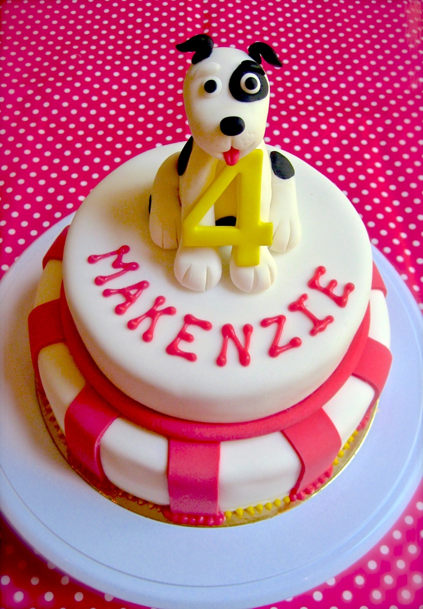 Woof Birthday Cake