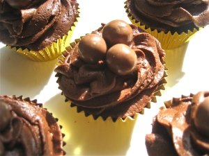 Malted Chocolate Fairy Cakes