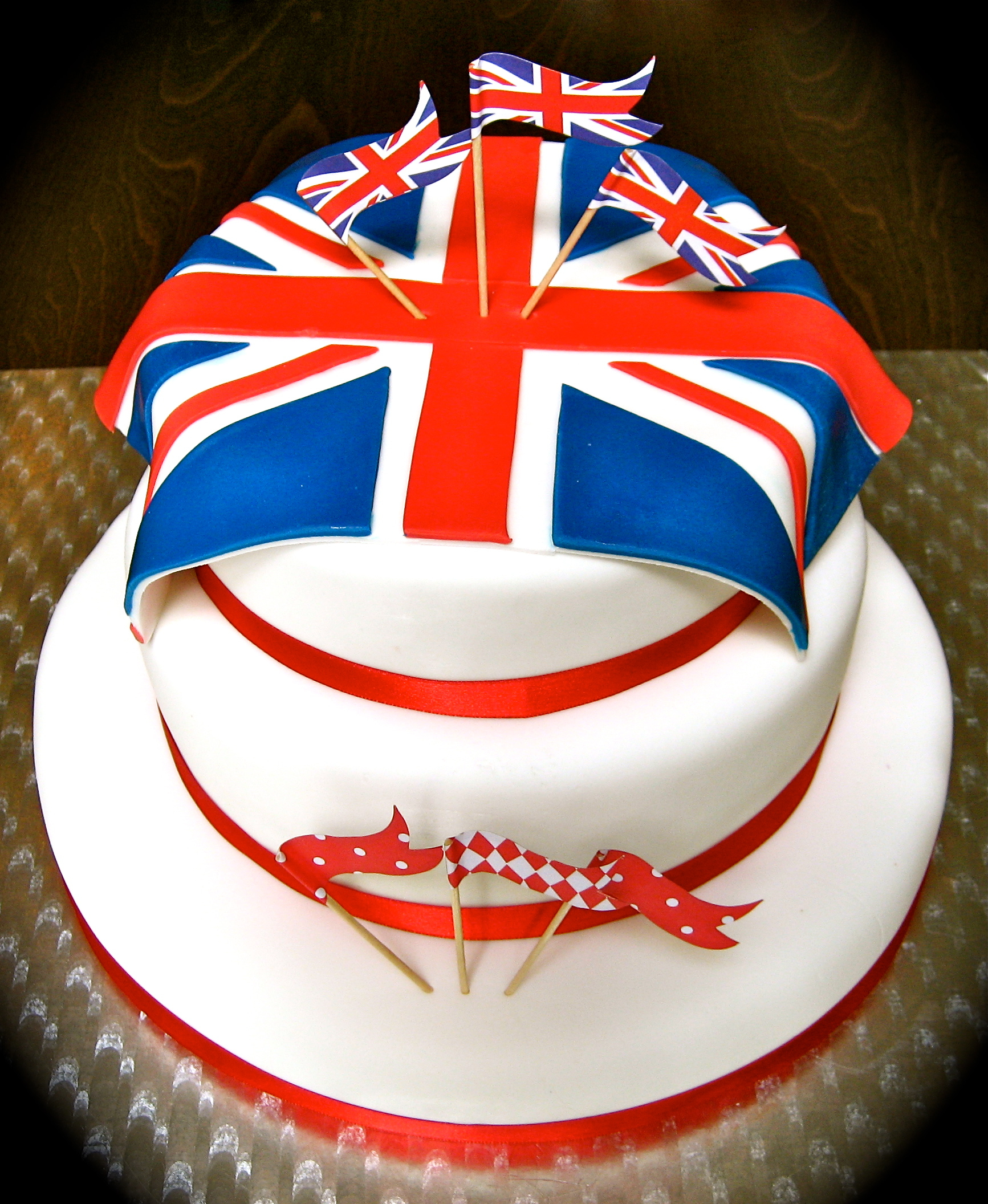 Jubilee Flags Cake