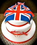 Jubilee Flags Cake