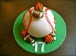 Sports Balls Cake