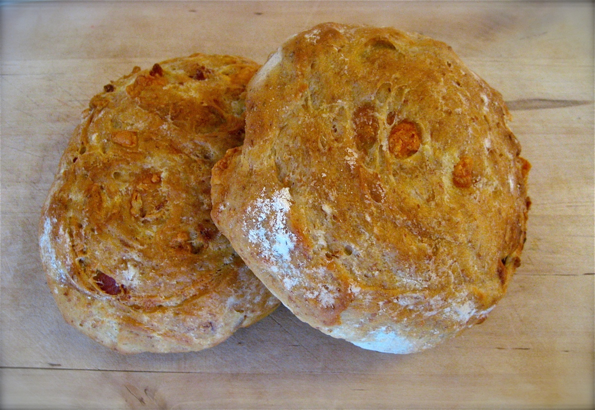 Cheddar and Bacon Loaves