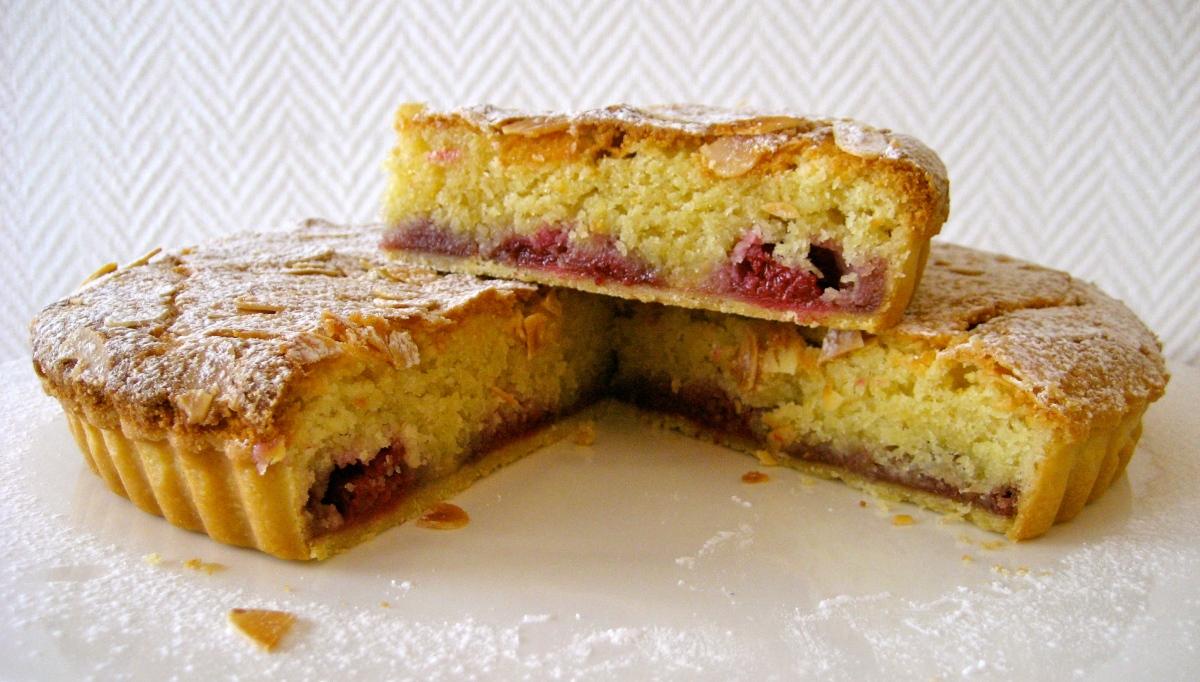 Fresh Raspberry Bakewell Tart