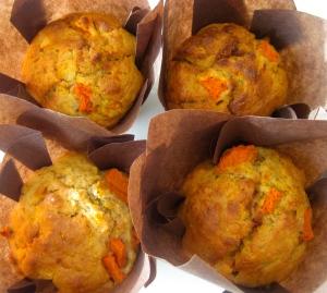 Pumpkin, Pecan & Rosemary Muffins