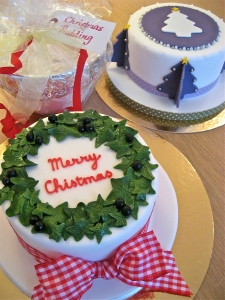 Christmas Cake and Pudding