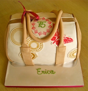 Handbag Chocolate Cake
