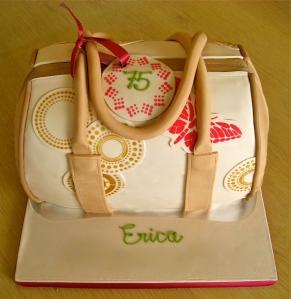 Handbag Chocolate Cake