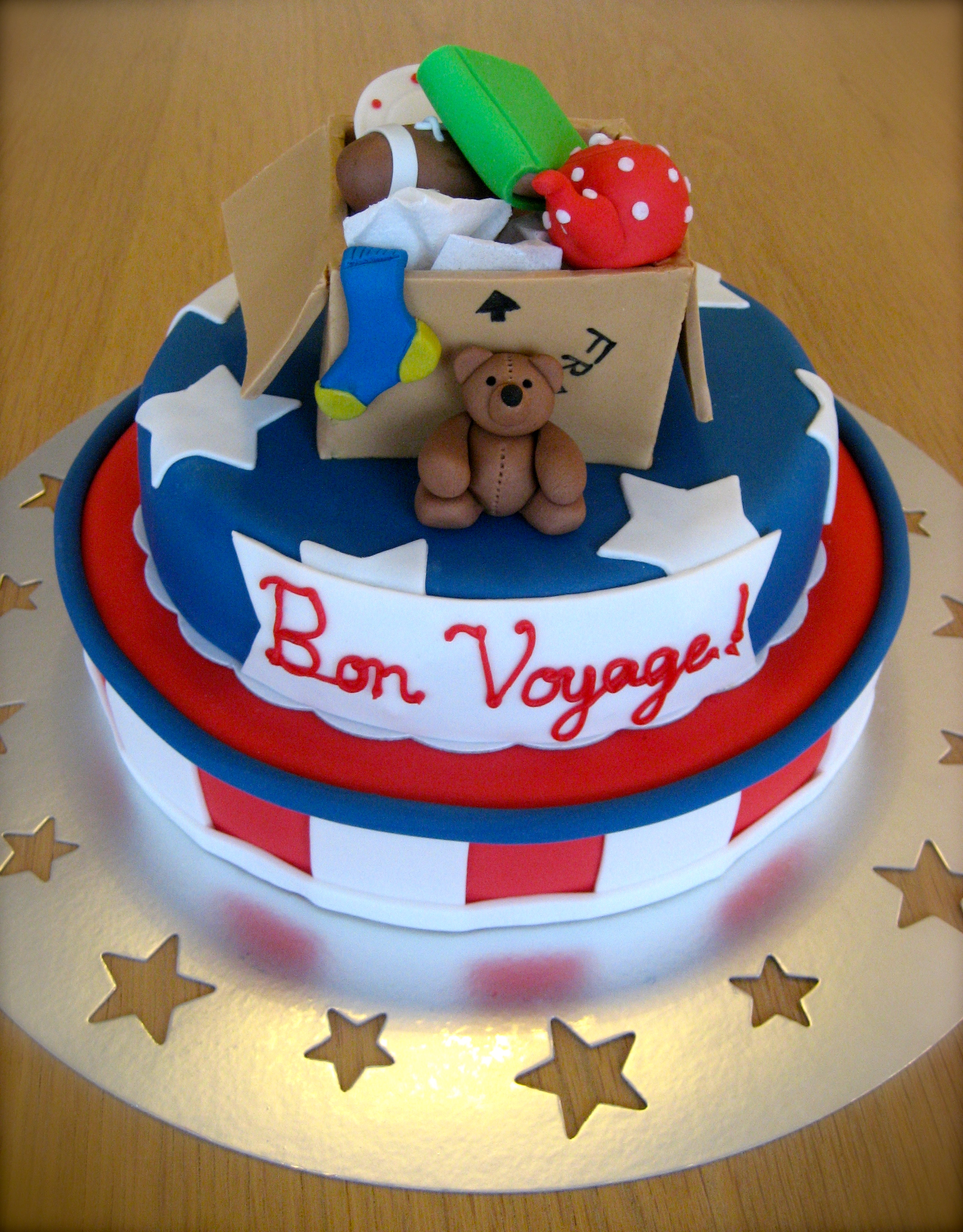Cake Decorating Ideas Bon Voyage : Bon Voyage Cake The English Baker