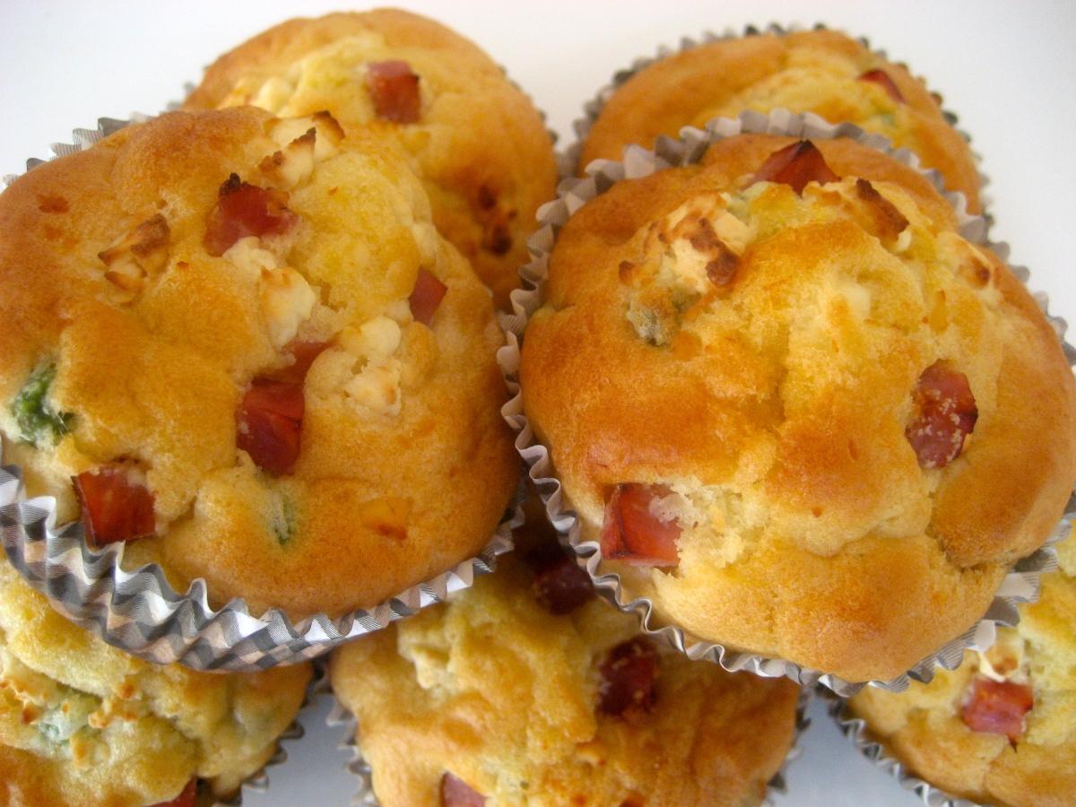 Pea & Ham Savoury Muffins