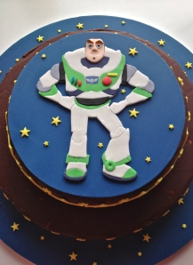 Buzz Lightyear (egg Free biscuit cake)