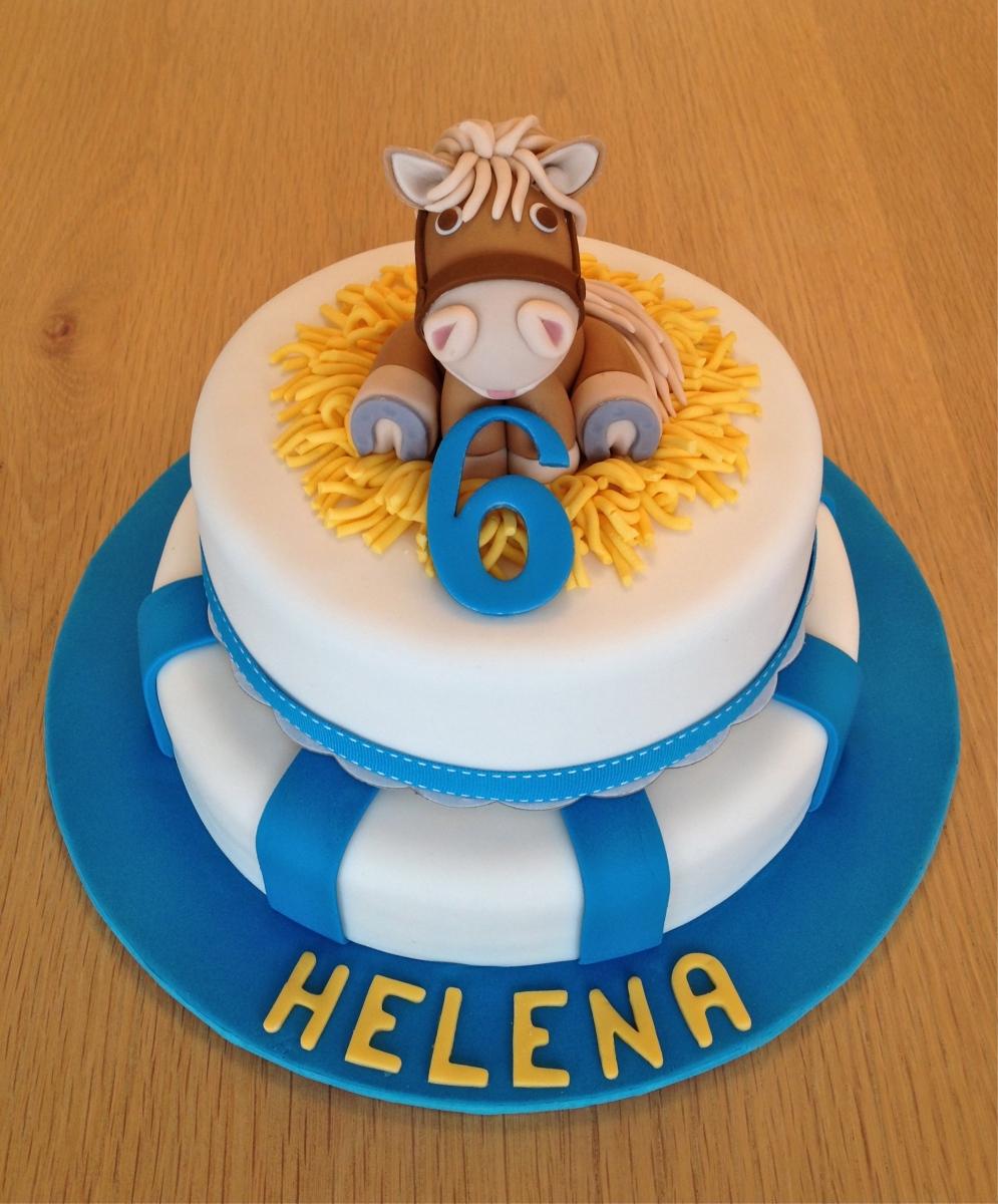 Brown Pony Cake