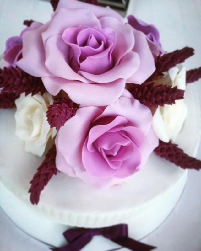 Rose & Lavender cake